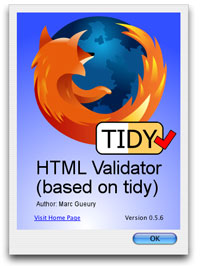 HTML Validator with Tidy