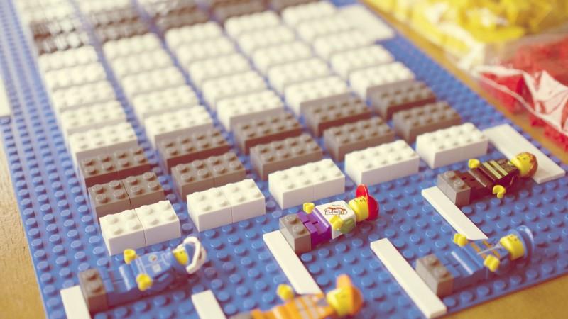Klooien met LEGO