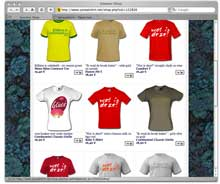 sneaker t-shirt shop